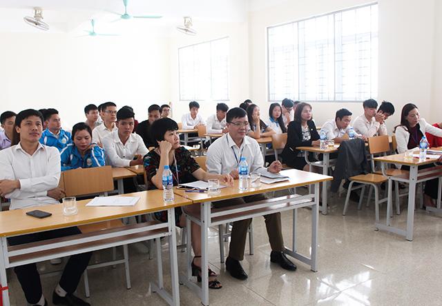 Khoa Lâm nghiệp tổ chức sơ kết học kì I năm học 2017-2018