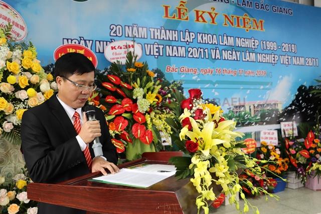 Khoa Lâm nghiệp tổ chức Lễ kỷ niệm 20 năm thành lập (1959 – 2019)